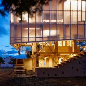 Dřevěná japonská architektura je pěsticím rájem i konstrukčním skvostem