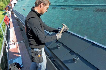 Jak zajistit správnou funkci střechy?