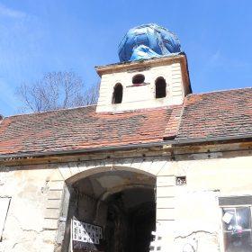 Policie zasahovala proti squatterům v usedlosti Cibulka v Praze