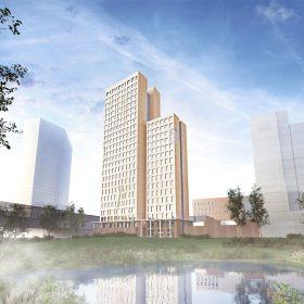 HoHo Vídeň - první výšková budova ze dřeva na světě