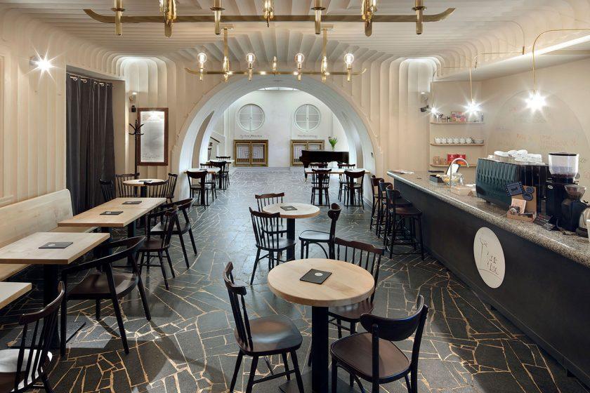 Rekonstrukce kavárny libereckého kina získala cenu Grand Prix Obce architektů
