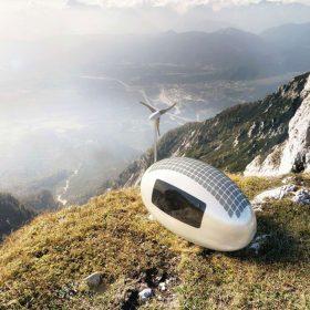 Ecocapsule – komfort hotelu s volností beatnika