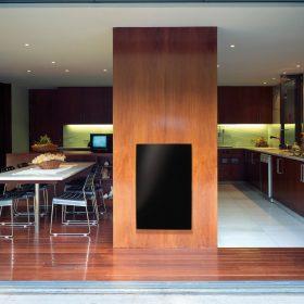 Skleněné sálavé panely jsou v rukou interiérového designéra ideálním topidlem