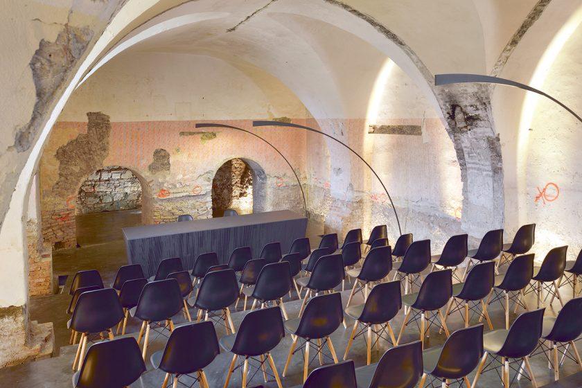 Citlivá konverze kláštera na kongresové a kulturní centrum