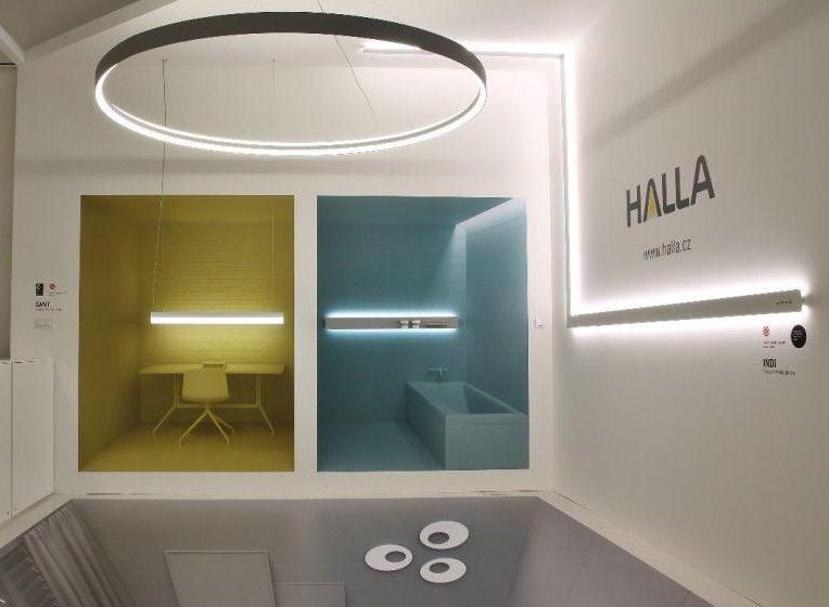 HALLA představila své novinky na Světle v architektuře