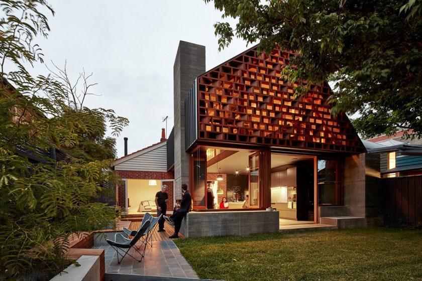 Rekonstrukce bungalovu v Melbourne je skvostnou oázou klidu
