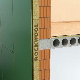 Polotuhá deska pro provětrávané fasády