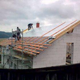 Ochrana střešní konstrukce proti přehřívání