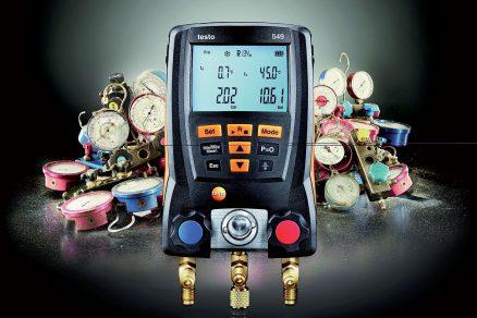 Nová generace měřicích přístrojů pro údržbu a servis chladicích zařízení