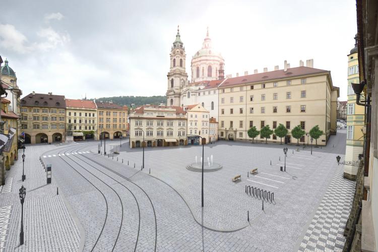 Architekti vypracují studii pro úpravy Malostranského náměstí