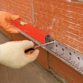 Kontaktní systém zateplení deskami z minerální vlny