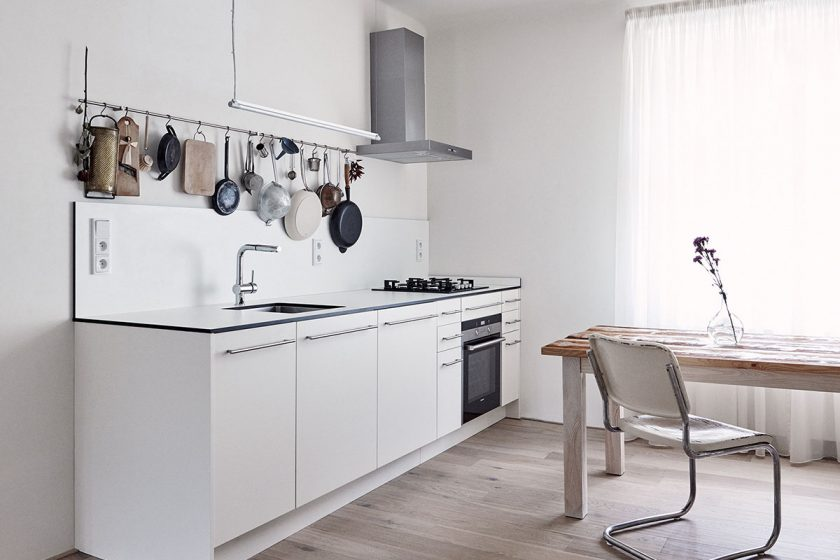 I malý byt může být vzdušný a pohodlný