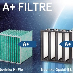 Eurovent 2015  - nové změny v energetické klasifikaci vzduchových filtrů