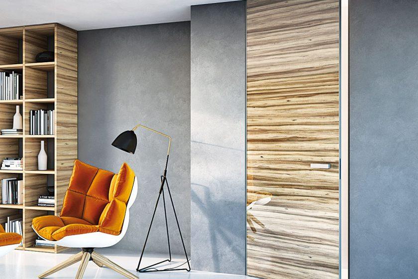 Designové dveře od podlahy ke stropu