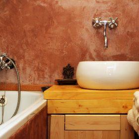 Hliněná omítka v koupelně?