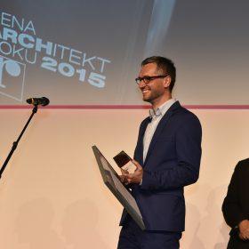 Letošním Architektem roku je Adam Gebrian