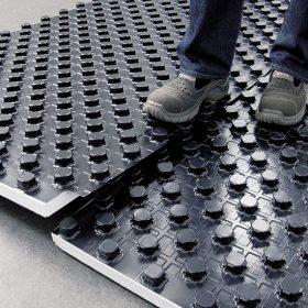 Podlahové vytápění – nopový system