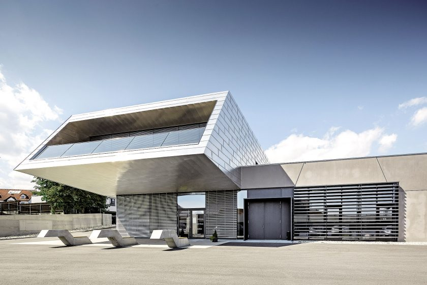 Design nového Vinařského centra v Kremži