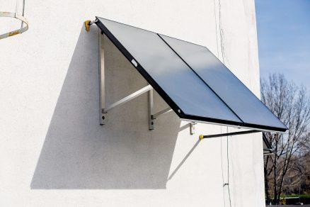 Solární systém ve sportovní hale v Seredi