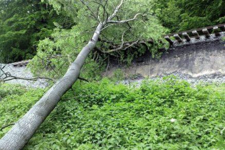 Sanace velkého sesuvu na trati Liberec – Česká Lípa