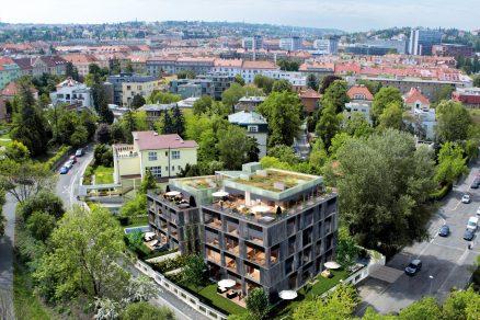 VBubenči vyroste luxusní Villa Atrium