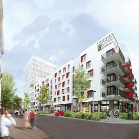 Projekt Ponavia vblízkosti centra Brna