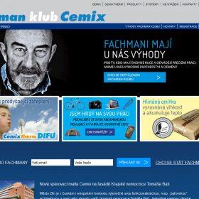 Cemix má internetový klub pro své fachmany