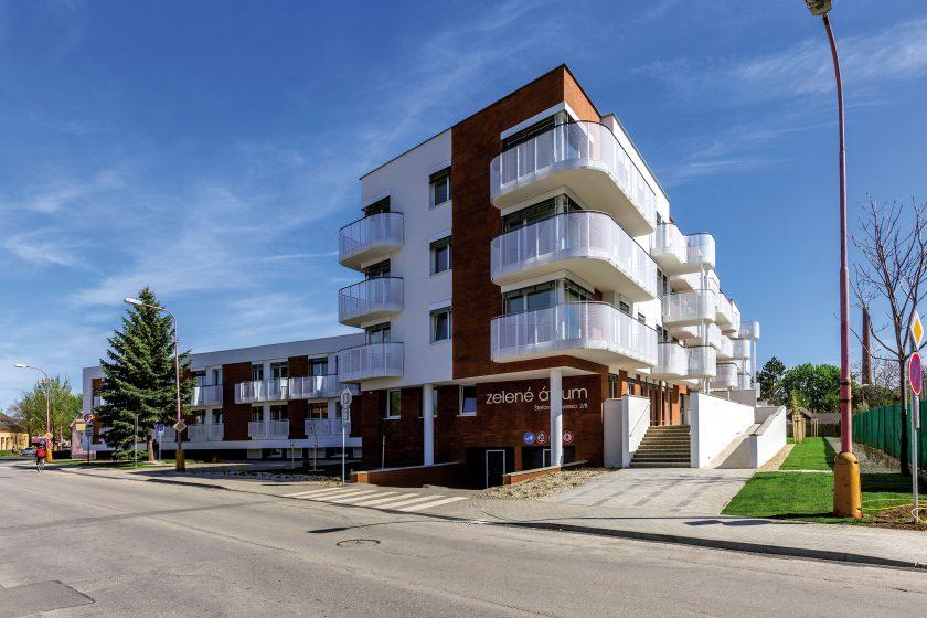 První bytový dům v pasivním standardu na Slovensku