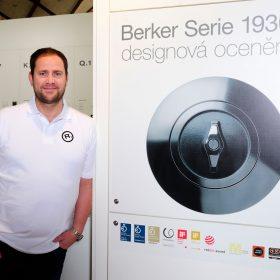 Porcelánové otočné vypínače – návštěvnický hit v expozici Hager na veletrhu Designblok