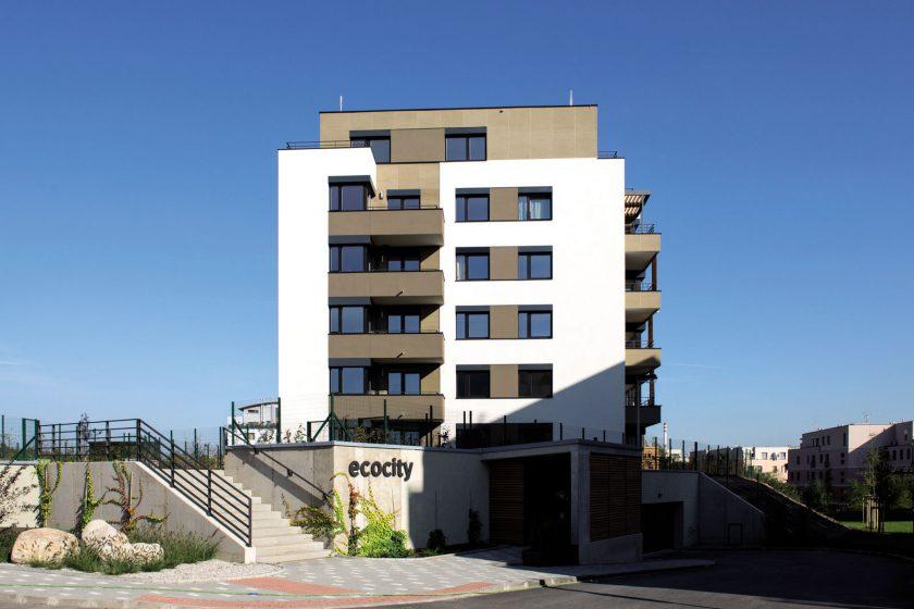 Ecocity Malešice: použitý zdicí systém ovlivnil rychlost výstavby