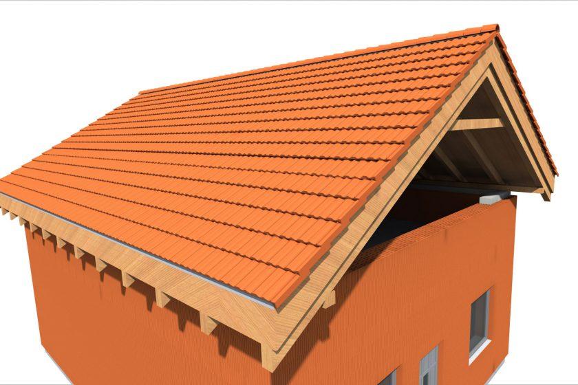 Zateplení šikmé střechy nad krokvemi