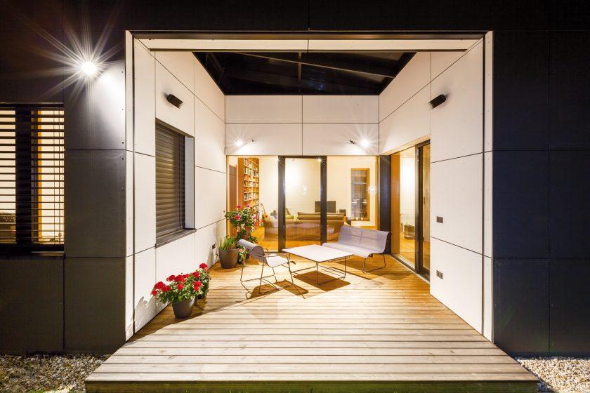Jednoduchý a poutavý rodinný dům