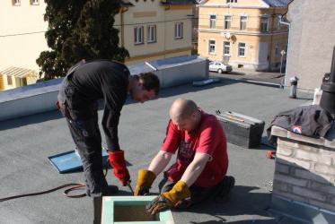 Odborné semináře na téma Izolace střech panelových domů 2016