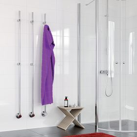 Vertikální sušák pro každou koupelnu