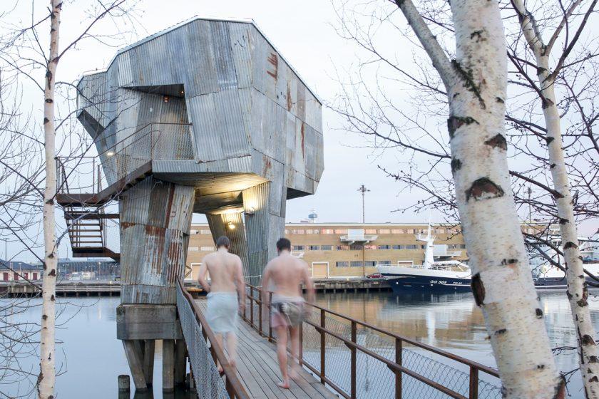 Sdílení ve švédské sauně