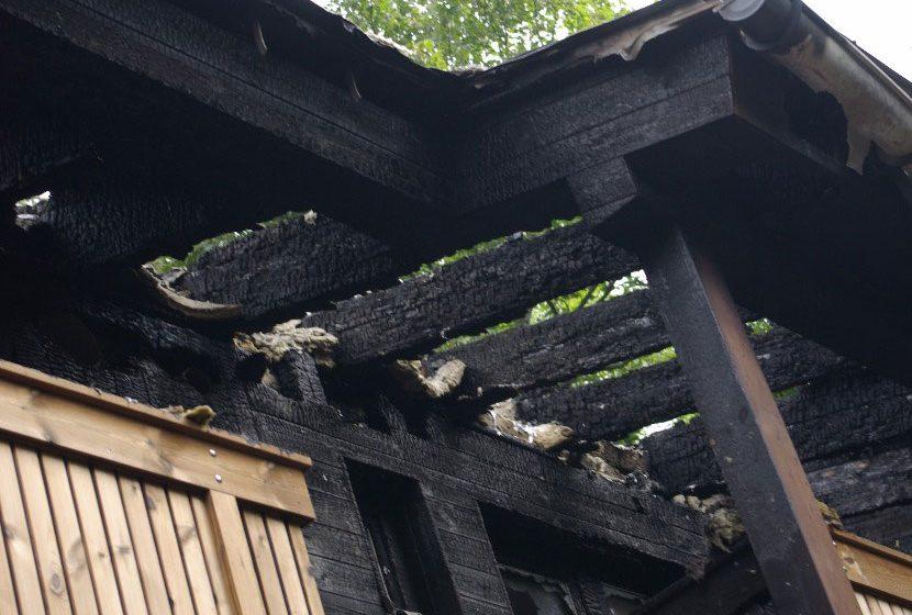 Oheň a dřevostavba
