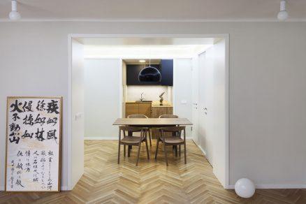 Rekonstrukce bytu v pražských Vysočanech