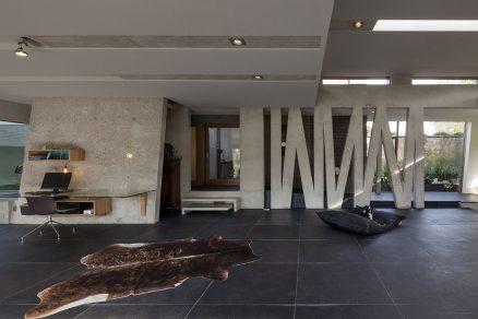 Dům odráží vášeň klienta pro design