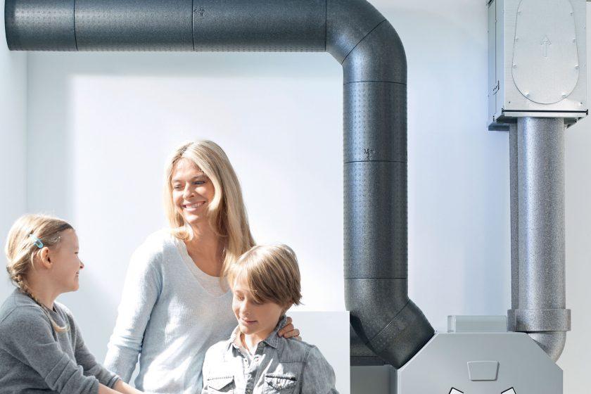 Komfortní větrání s rekuperací tepla pro rodinné domy a byty