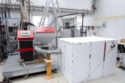 Výkonové a emisní parametry teplovodního kotle na spalování biomasy