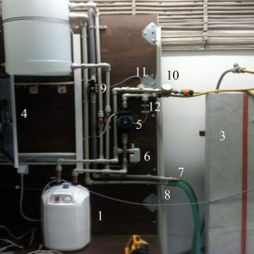 Analýza fyzikálních vlastností stěny saktivní tepelnou ochranou