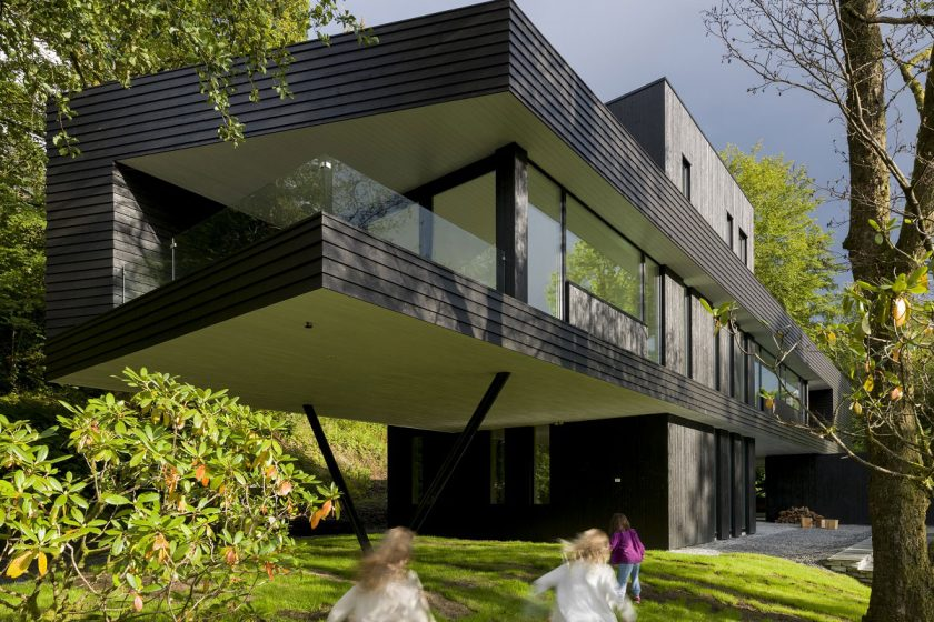 Vila S je skvělou ukázkou současné skandinávské architektury