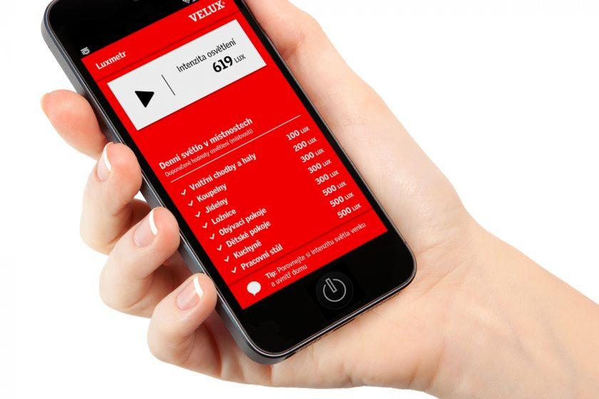Aplikace LUXMETR a VELUX LUX kalkulátor zjistí, kolik světla potřebuje vás domov