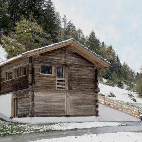 Nízkoenergetická stodola ve švýcarské kvalitě