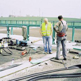 Bezpečnost na stavbách pozemních komunikací