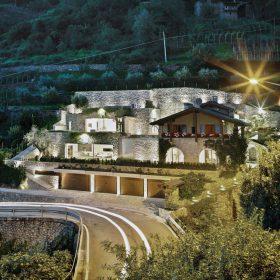 Bydlení v terasách z kamene