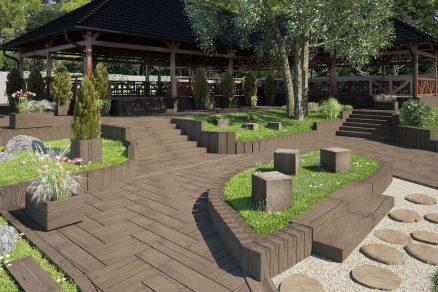 Dokonalá imitace dřeva do Vaší zahrady