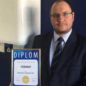 Tatramat získal prestížne ocenenie Business Superbrands