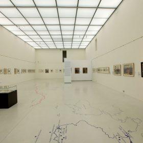 Podlaha a podhled pro libereckou galerii