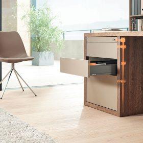 CABLOXX - více designu pro uzamykatelný nábytek